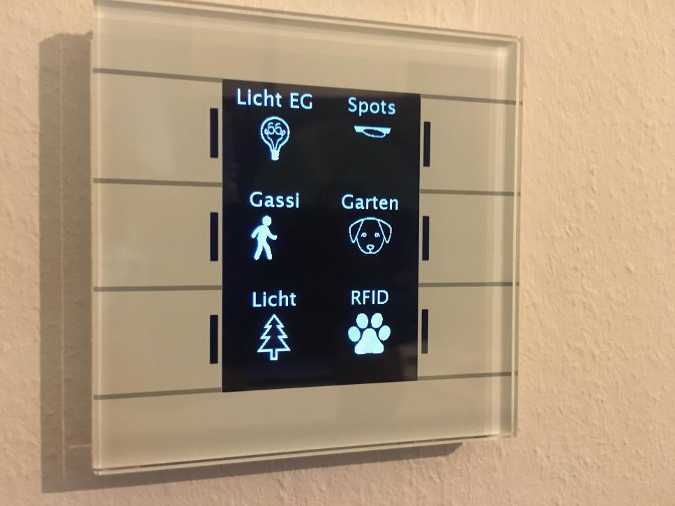 Bunte Icons für den MDT Glastaster II Smart